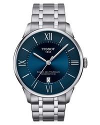 Tissot T Classic Chemin Des Tourelles Powermatic 80 Automatic Bracelet Watch