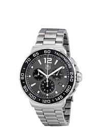 Tag Heuer Formula 1 Chronograph Grey Dial Watch Cau1115ba0858