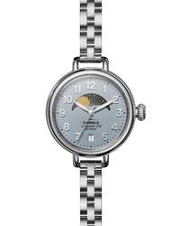 Shinola The Birdy Moon Phase Bracelet Watch