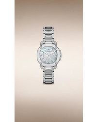 Burberry The Britain Bby1804 34mm Diamond Indexes