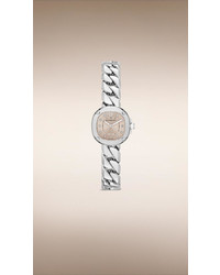 Burberry The Britain Bby1953 26mm Diamond Indexes