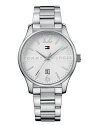 Tommy Hilfiger Watch Silver Tone Bracelet 1710235