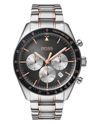 BOSS Trophy Chronograph Bracelet Watch