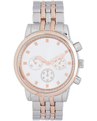 Forever 21 Two Tone Chronograph Watch