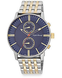 English Laundry Two Tone Stainless Steel Watch