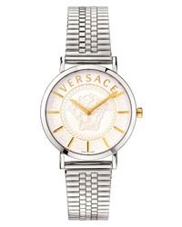 Versace V Essential Mesh Watch