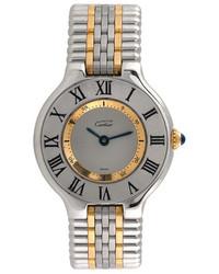 Cartier Vintage Must De Stainless Steel Watch 28mm