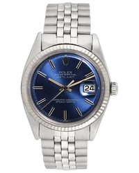 Rolex Vintage Stainless Steel Datejust Watch 36mm