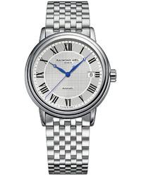 Raymond Weil Watch Swiss Automatic Mstro Stainless Steel Bracelet 2837 St 00659
