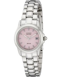 Watches ew1250 54a eco drive stainless steel watch watches medium 390404