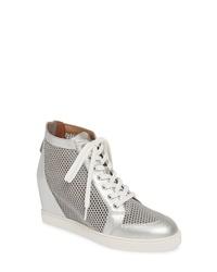 Linea Paolo Finian Mesh Wedge Sneaker Bootie