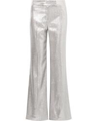 Rachel Zoe Eden Metallic Woven Wide Leg Pants