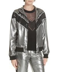 Rag & Bone Sloane Metallic Track Jacket