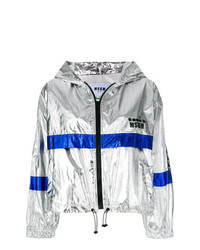 MSGM X Diadora Metallic Windbreaker