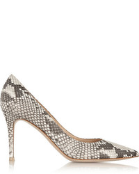 Snake Leather Pumps