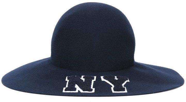 Moda para Mujer › Sombreros y gorros › Sombreros › Sombreros de lana azul  marino Sombrero de Lana Azul Marino de Joshua Sanders 0a06061e3fec