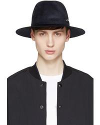 Sombrero de lana azul marino de Larose