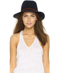 Sombrero de lana azul marino de Rag and Bone