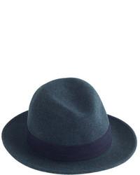 Sombrero de lana azul marino de The Hill-Side