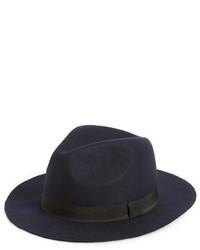 Sombrero de lana azul marino de Topman