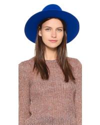 Sombrero de lana azul de Brixton