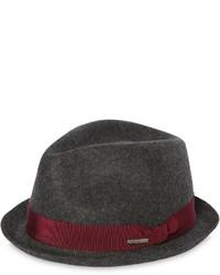 Sombrero de lana en gris oscuro de DSQUARED2