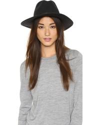 Sombrero de lana en gris oscuro de Rag & Bone