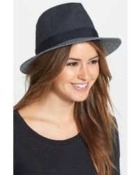 Sombrero de lana en gris oscuro de Vince Camuto