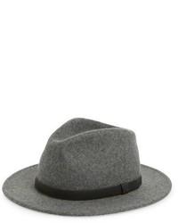 Sombrero de lana gris de Brixton