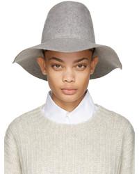 Sombrero de lana gris de CLYDE