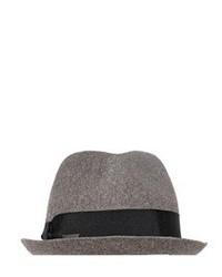 Sombrero de lana gris de DSquared