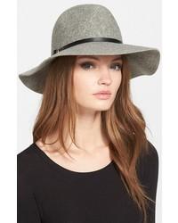 Sombrero de lana gris de Hinge