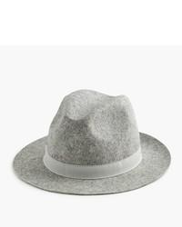 Sombrero de lana gris de J.Crew