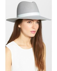 Sombrero de lana gris de Janessa Leone