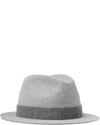 Sombrero de lana gris de Loro Piana