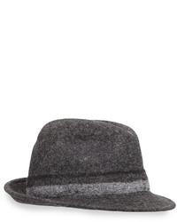 Sombrero de lana gris de Paul Smith