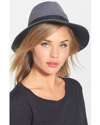 Sombrero de lana gris de Vince Camuto