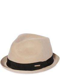Sombrero de lana marrón claro de DSQUARED2