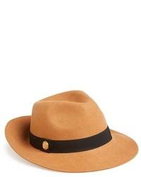 Sombrero de lana marrón claro de Vince Camuto