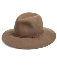 Sombrero de Lana Marrón de Hinge