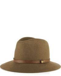 Sombrero de Lana Marrón de Rag and Bone