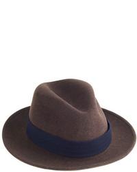 Sombrero de lana marrón de The Hill-Side