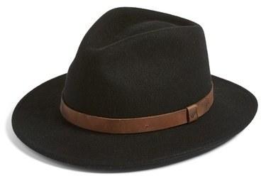 Sombrero de Lana Negro de Brixton  dónde comprar y cómo combinar 2071325808e