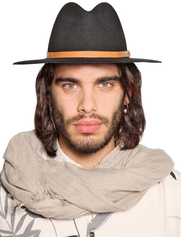 Sombrero de lana negro de Diesel