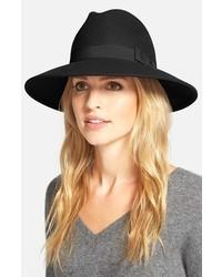 Sombrero de lana negro de Halogen