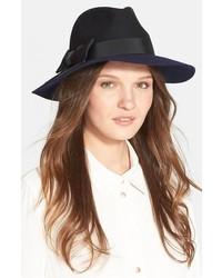 Sombrero de lana negro de Kate Spade