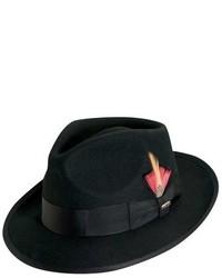 Sombrero de lana negro de Scala