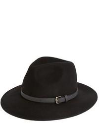 Sombrero de lana negro de Sole Society