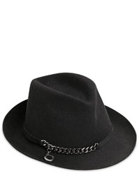 Sombrero de lana negro de Stella McCartney