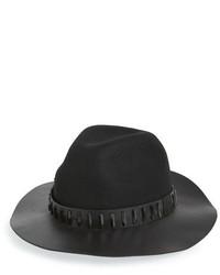 Sombrero de lana negro de The Kooples